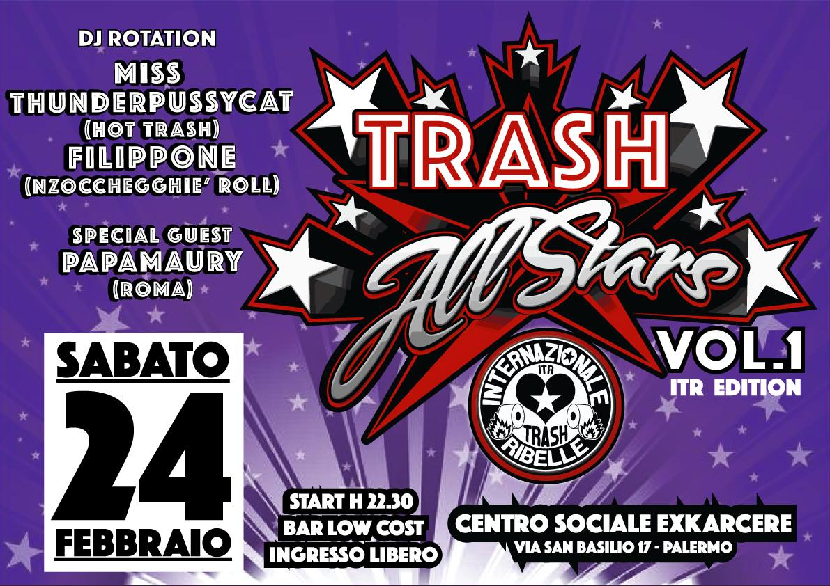TRASH ALL STARS Vol. 1 - Assalto al Titolo - ITR Edition