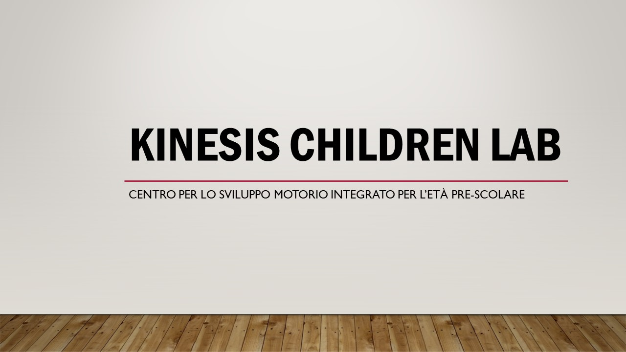 KINESIS CHILDREN LAB by KINESIS Chidren LAB