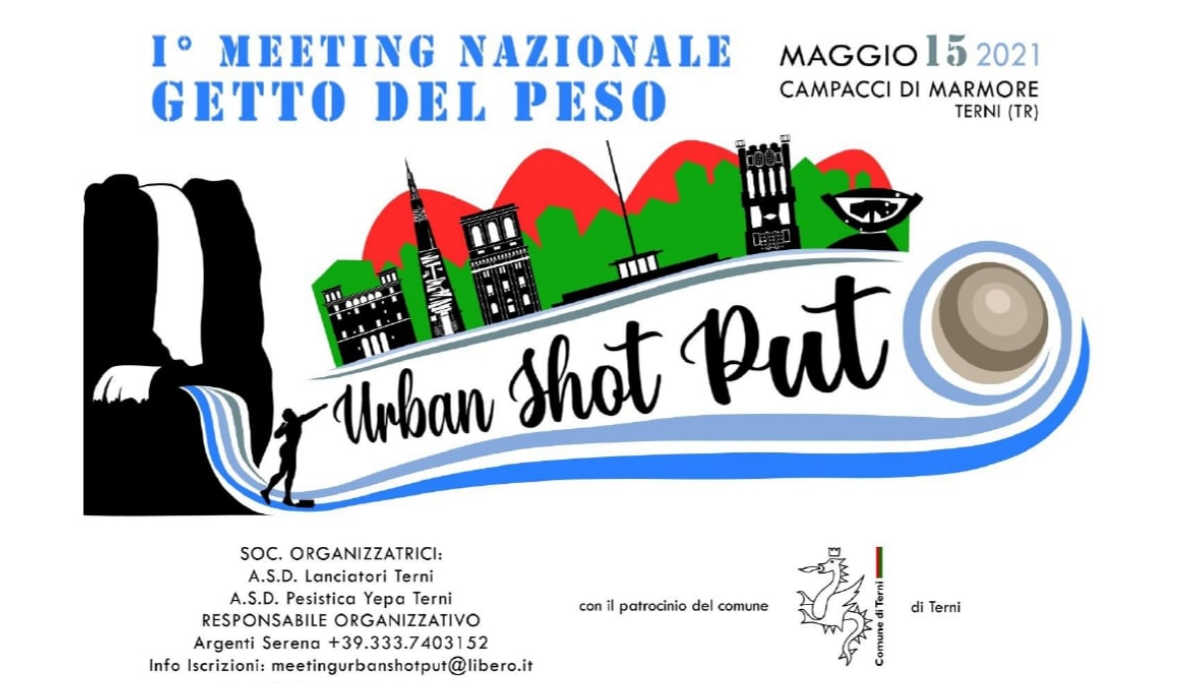 Urban Shot Put - I° Meeting in piazza Lancio del Peso by Serena Argenti